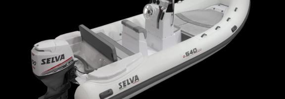 SELVA MARINE - Semi rigide D.540 - Flotteurs hypallon - 2021