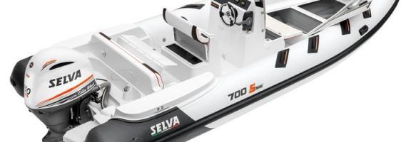 Selva D.700 Speciale Line avec moteur 200 CV