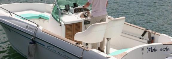 Cap Camarat 625 Open avec moteur de 130 CV