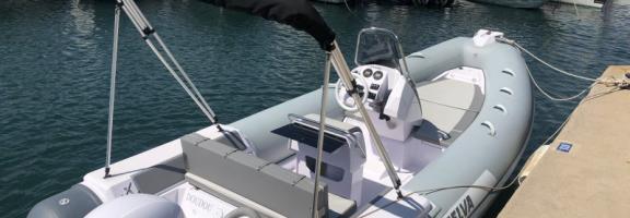 Semi rigide  Selva 570 Sport avec moteur 115 CV 4 Temps - 8 passagers max - Année 2020