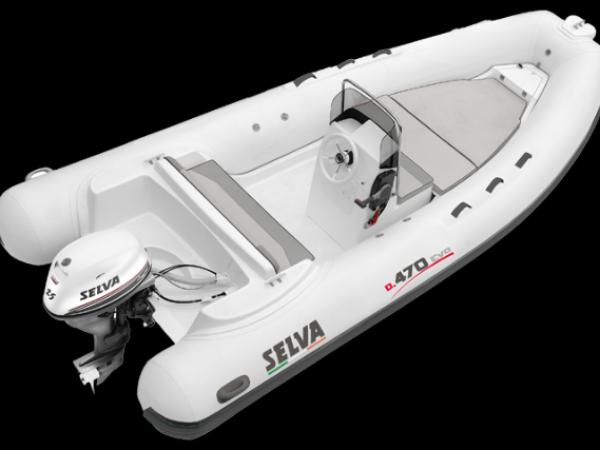SELVA MARINE - Semi rigide D.470 - 2021 - Flotteurs hypalon