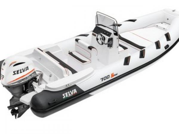 Selva D.700 Special Line-2020- Flotteurs hypalon